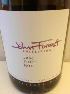 John Forrest Collection label
