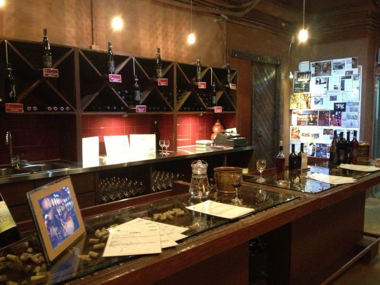 8th Estate tasting room