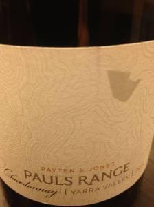 P&J St Pauls Chardonnay label