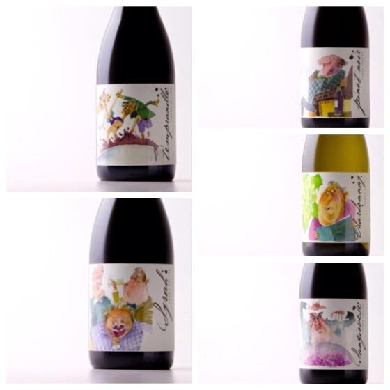 Valley Vignerons labels