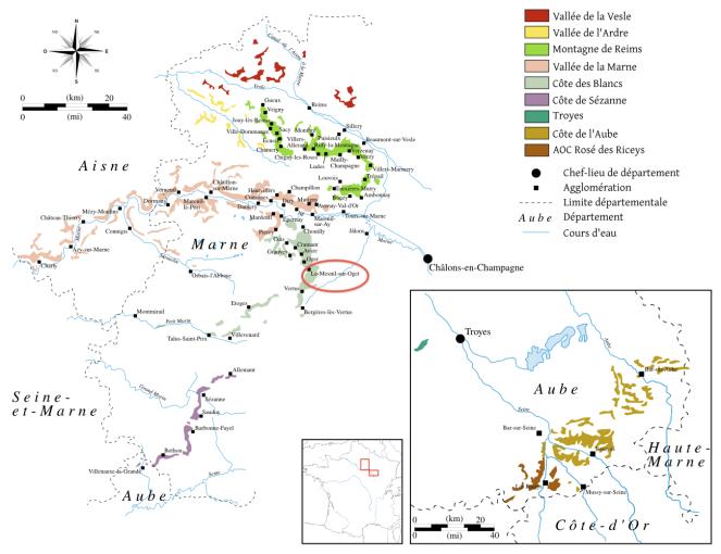Wikipedia Map of Champagne