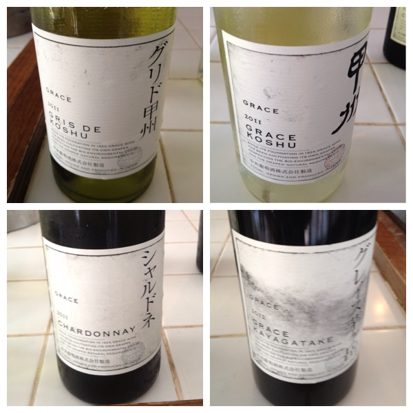 Grace Wine Tasting Selection