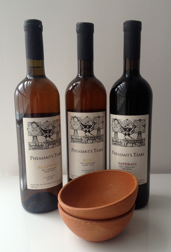 Pheasant's Tears with bowls