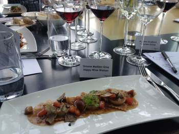 Mt Difficulty lunch course 2