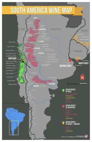 South-America-Wine-Map Wine Folly