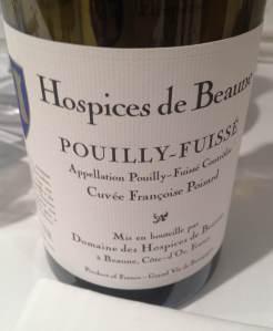 1. HdB Pouilly Fussé