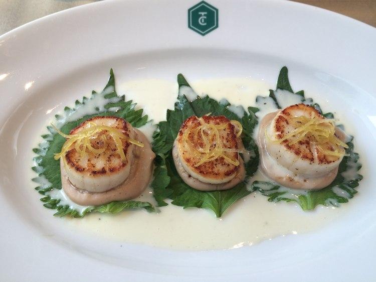 Fine Food Dude scallops photo