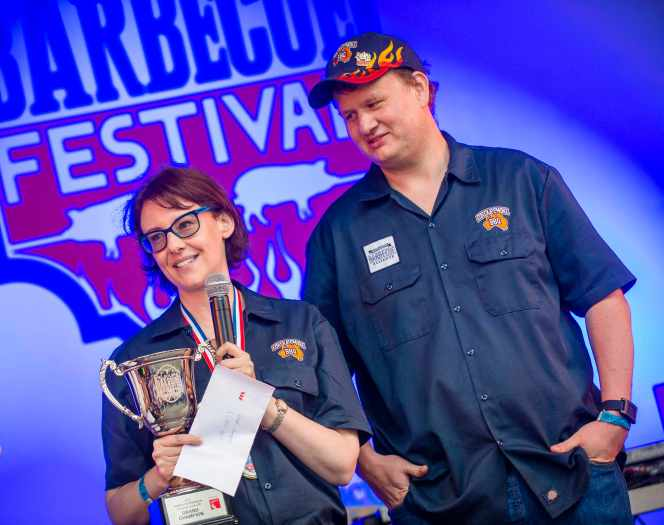 BBQ overall 1st place