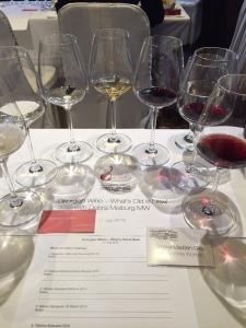 Georgian tasting - seminar glasses