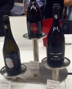 Thiénot tasting room 2 bottles