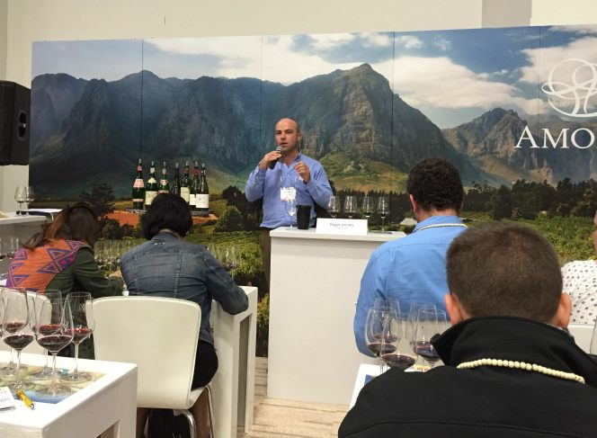 Cape Wine six decades of Pinotge with Higgo Jacobs, Sommelier at Large