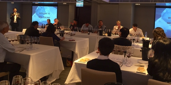 Watsons NZ Pinot Noir masterclass with panel