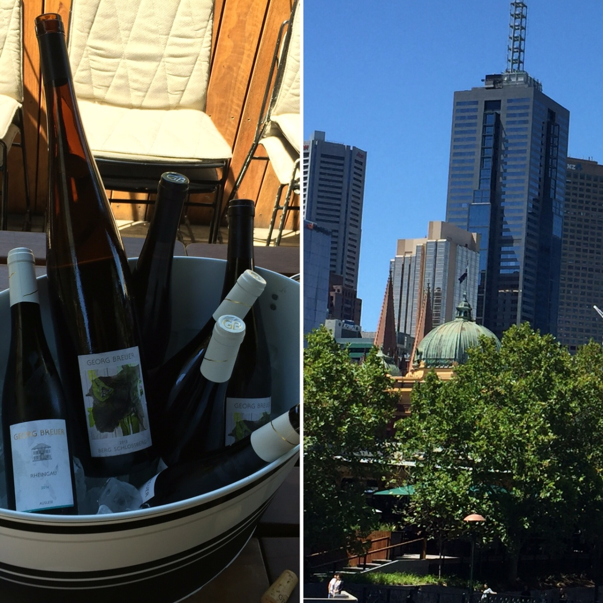 Where the Rhine meets the Yarra - Georg Breuer and CellarHand Wines