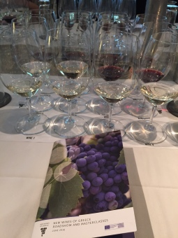 New Wines of Greece masterclass