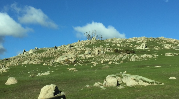 Macedon Ranges rocky outcrops cropped